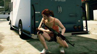 До сих пор женскими персонажами можно было управлять только в GTA Online.