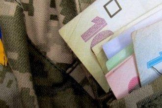 Купюры карман военная форма