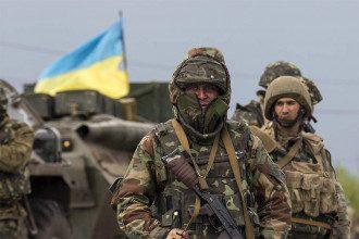 Бойцы ВСУ на Донбассе