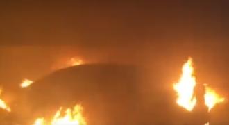 В Черноморске сожгли иномарку Ивана Смиренского