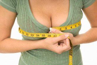 Измерения объема женской груди