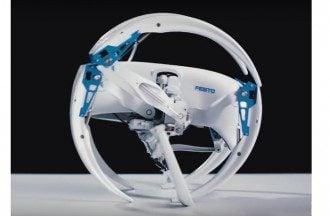 Сооздан уникальный робот-паук