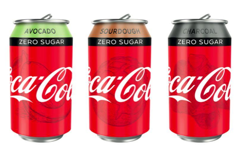 Кока кола новый вкус каркуша фруктовый сад