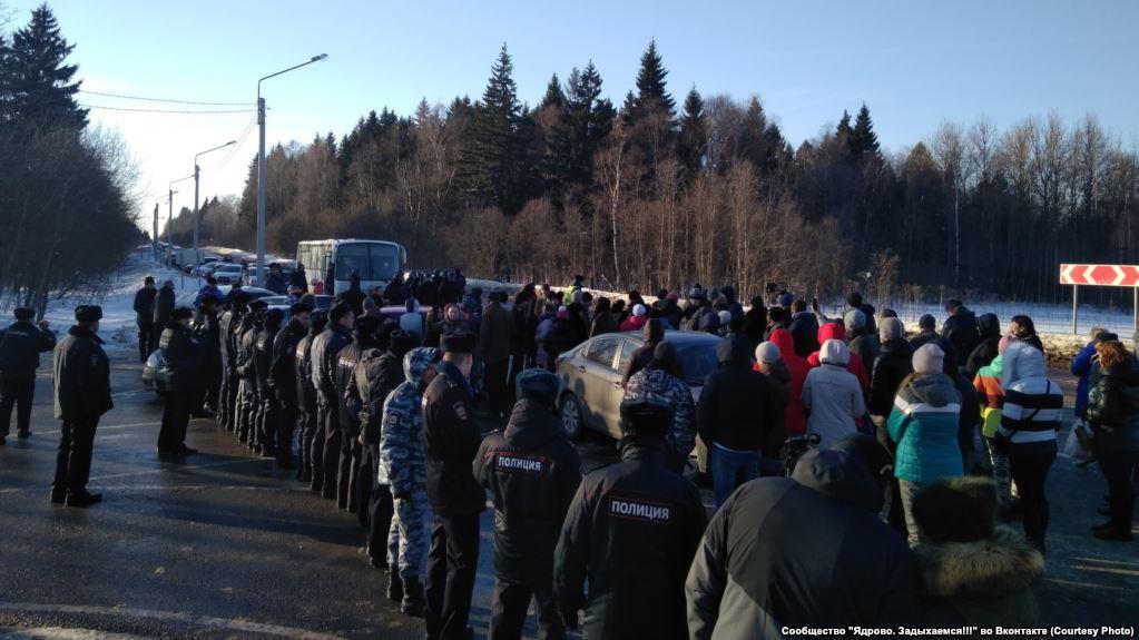 Из-за токсичной свалки Волоколамск охватили стихийные митинги