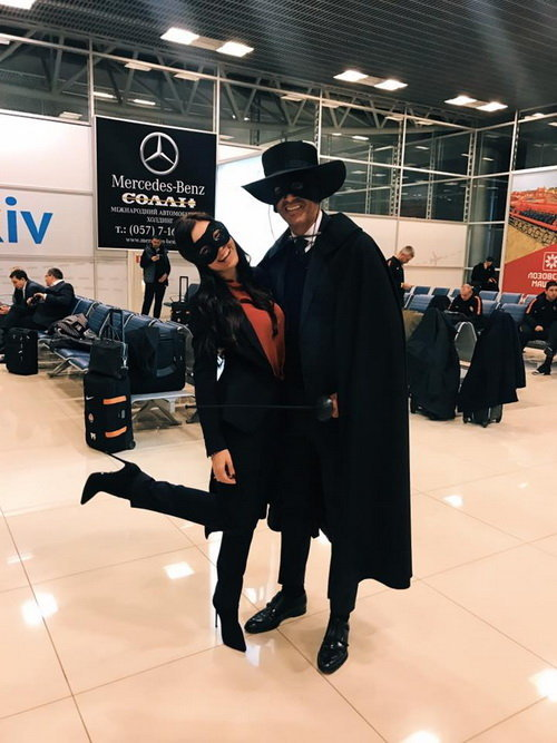 Пауло Фонсека и Екатерина Остроушко