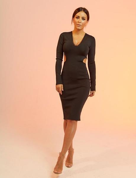 Ани Лорак показала фото в элегантном платье