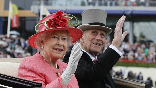 Принц Филипп и Елизавета II