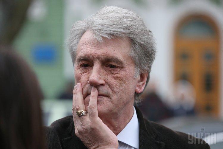 Путинская политика боится, чтобы против нее не выступили солидарно десятки страны, отметил Виктор Ющенко