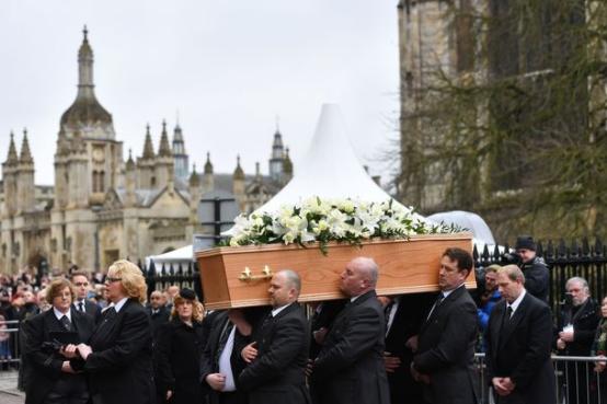 Хокинга похоронили в Кембридже