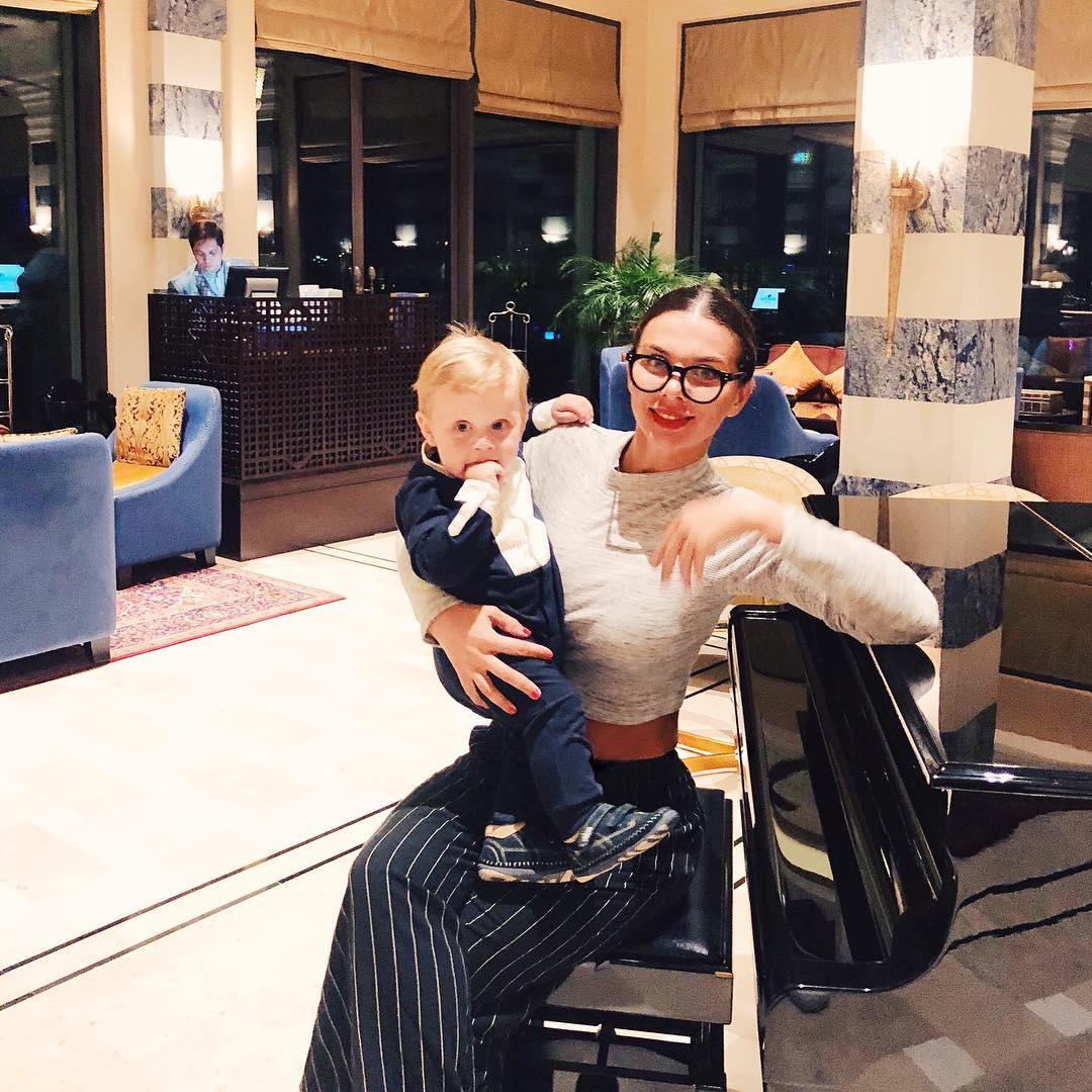 Седокова поделилась милым фото с сыном гектором