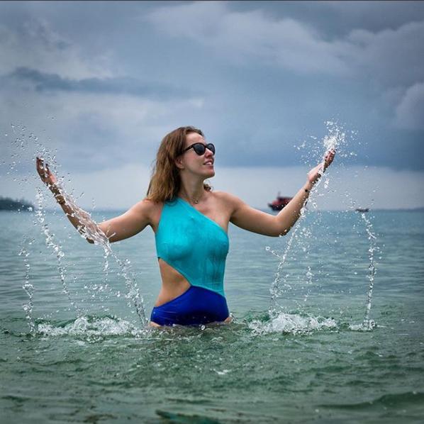 Ксения Собчак поделилась новым фото с отдыха