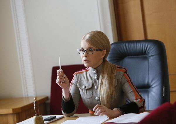 В этом же пиджаке Тимошенко заметили летом 2017 года