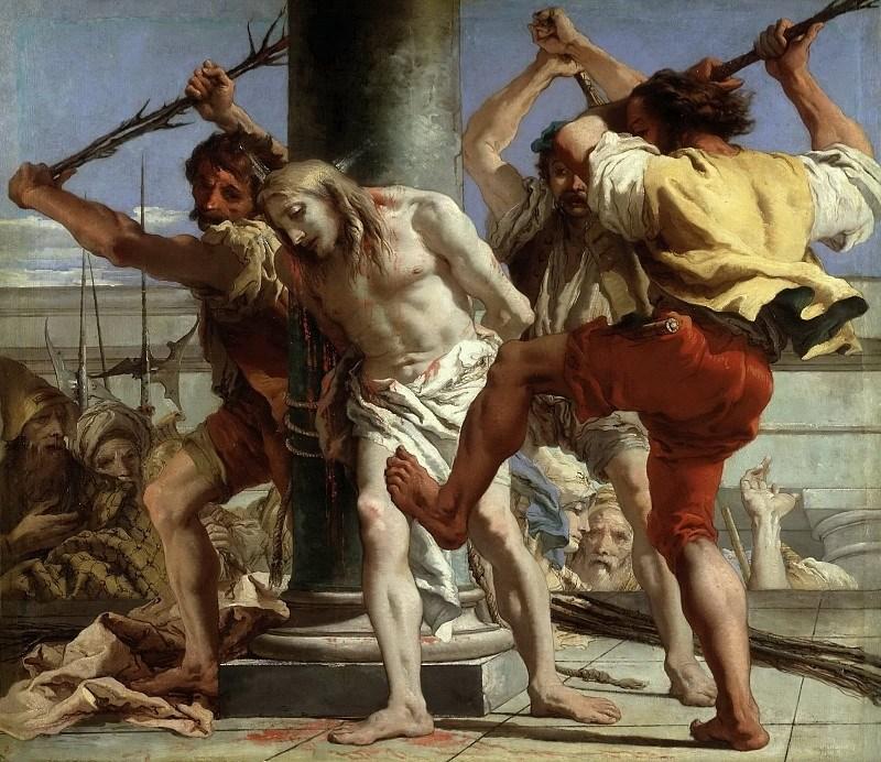 Бичевание Христа. Джованни Баттиста Тьеполо