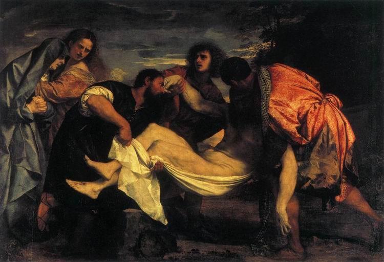 Положение во гроб. Тициан Вечеллио