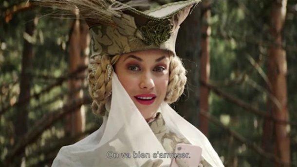 Ольга Куриленко исполнила одну из ролей в фильме