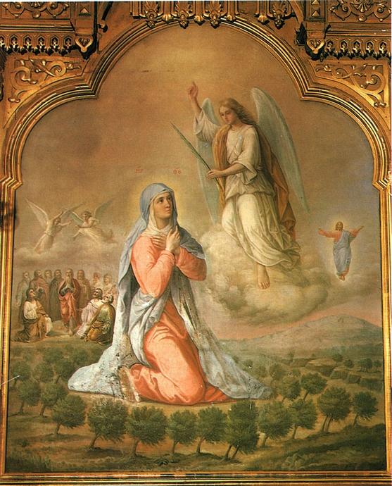 Благовещние Пресвятой Богородицы. Икона