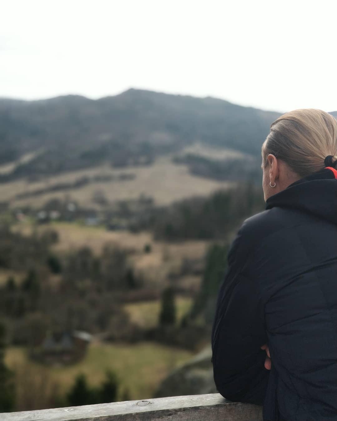 Артист отдыхает в Карпатах
