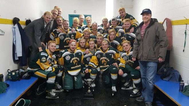 Юниорская хоккейная команда