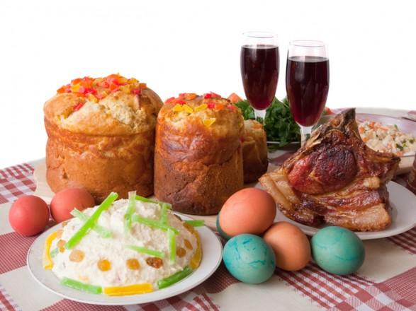 Пасхальный праздничный стол - настоящее испытание для желудка, особенно после поста