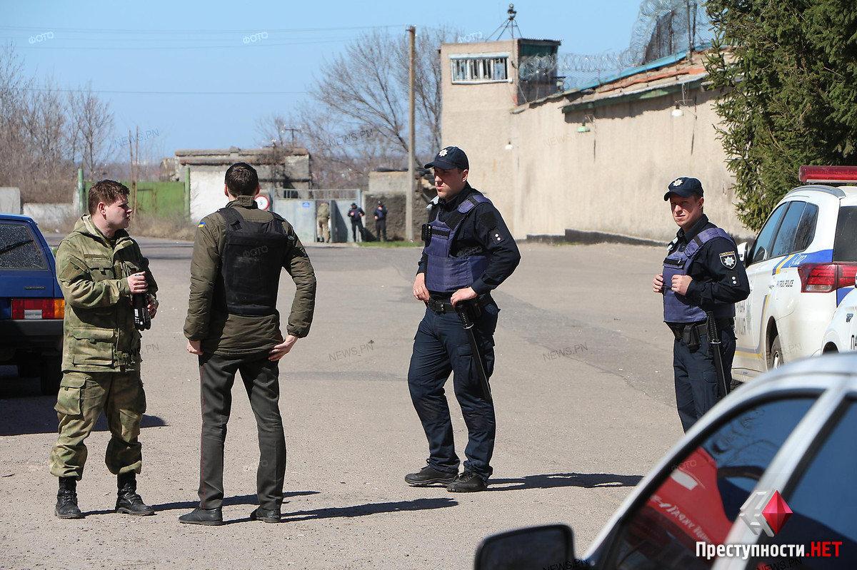 В Николаевском СИЗО подозреваемые устроили бунт