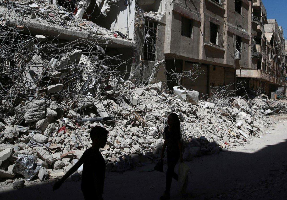 Башар Асад и его российские союзники намерены вернуть под контроль правительства ююго-западную часть Сирии
