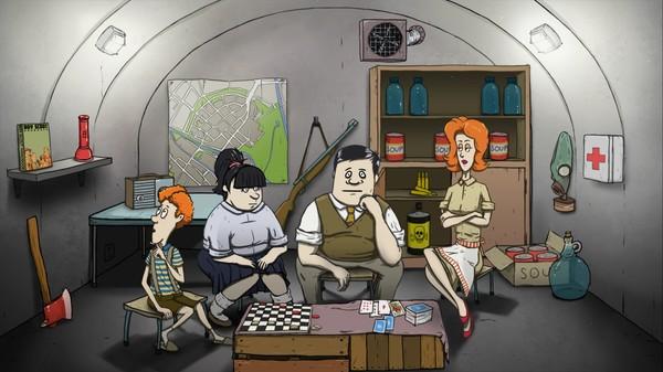 Российское ТВ объяснило, как выжить в бункере.