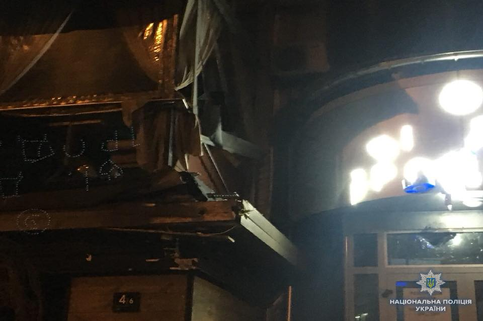 """В Киеве в результате выстрела из гранатомета в отдел продаж """"Киевгорстроя"""" никто не пострадал"""
