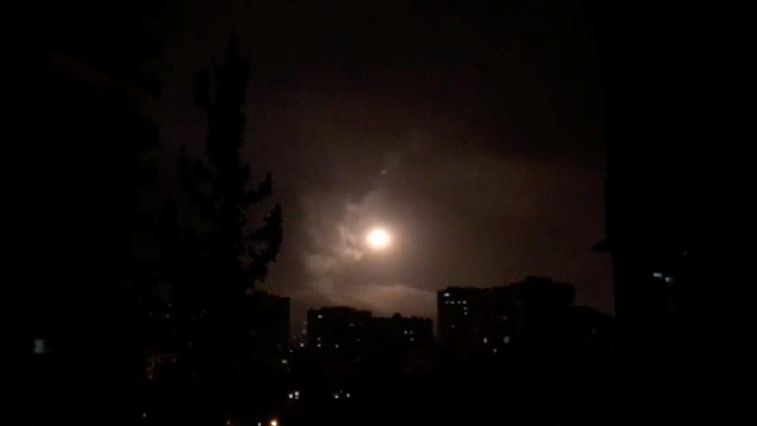 Союзники нанесли ракетный удар по Сирии