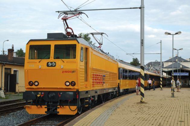 Фирменный поезд RegioJet будет курсировать из Украины в Прагу