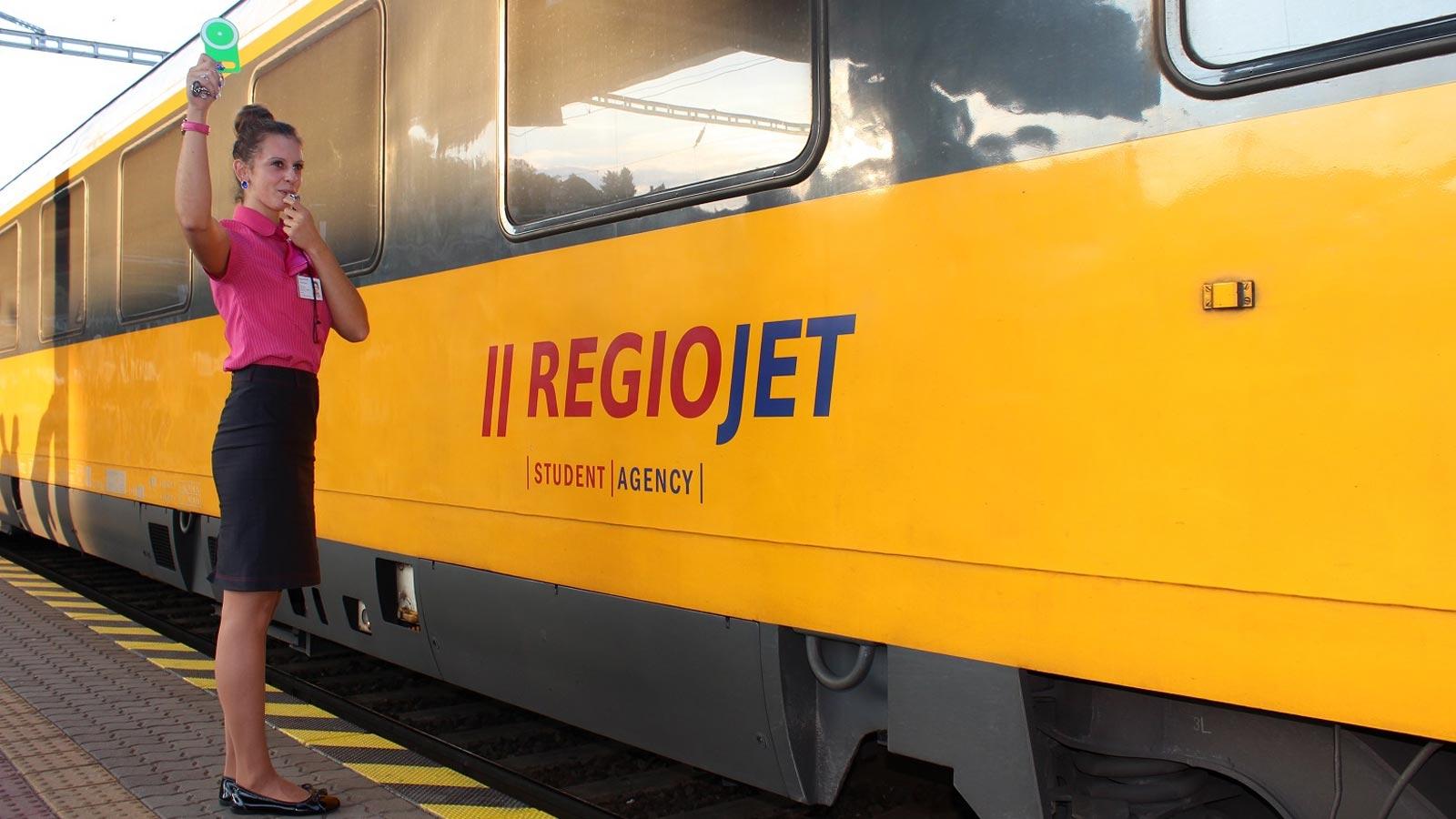 В Украине заработал RegioJet.