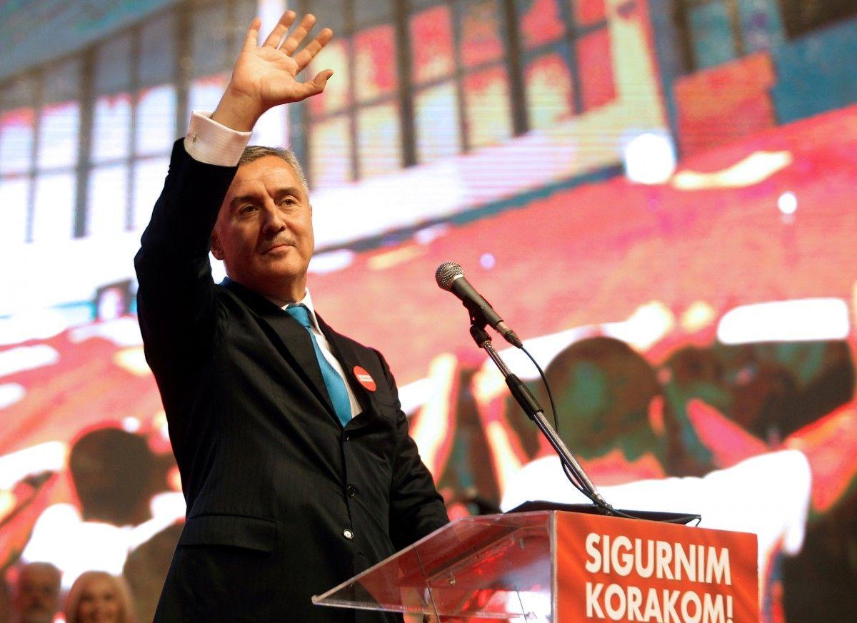 Премьер страны и лидер правящей партии Черногории Мило Джуканович избран на пост президента