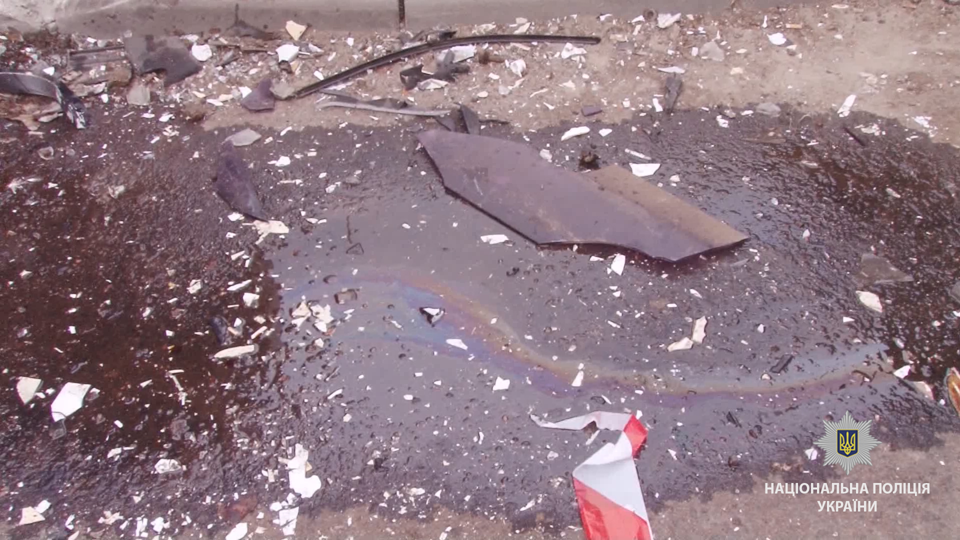В Одессе мусоровоз столкнулся с маршруткой