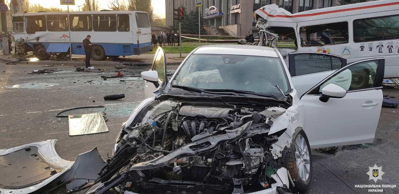 В Кривом Роге в результате масштабной аварии умерли десять человек, узнали журналисты