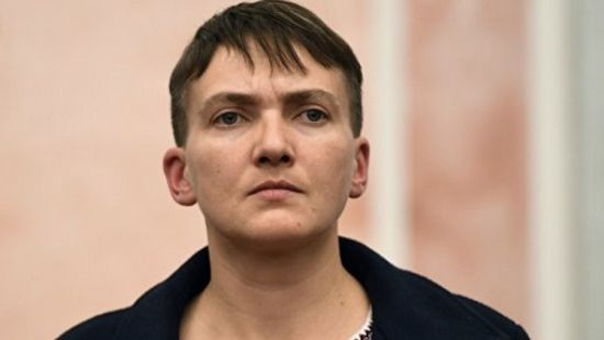 Савченко похудела.