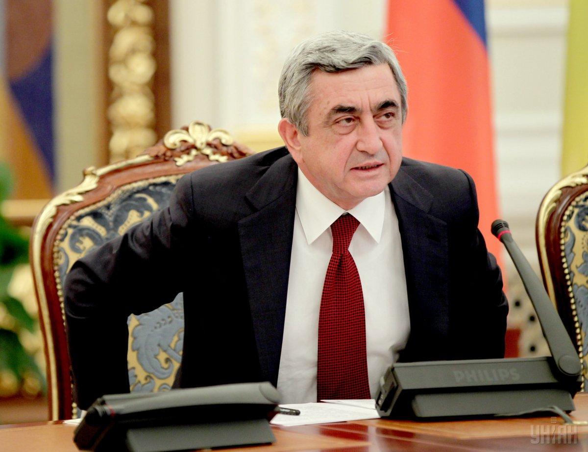 Саргсян ушел с поста премьера.