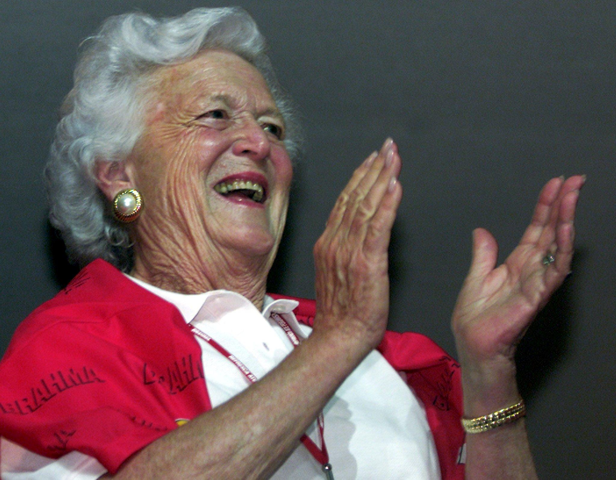 Барбара Буш скончалась