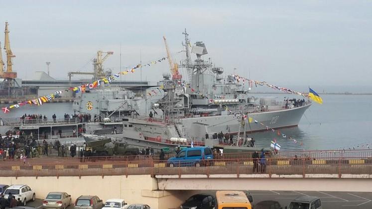 Украинский военный корабль