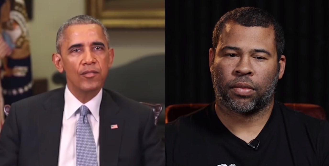 Джордан Пил заставляет произносить Барака Обаму нужные ему фразы.