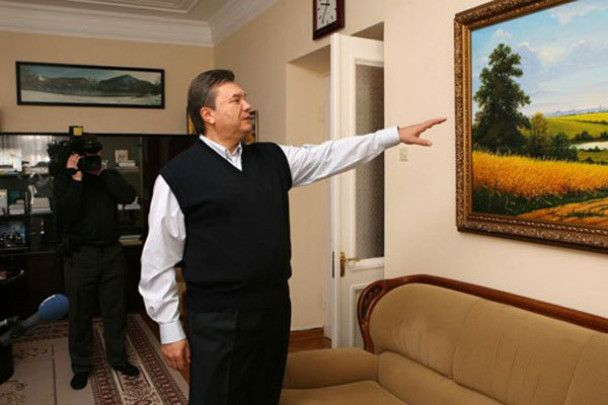 Янукович в Межигорье