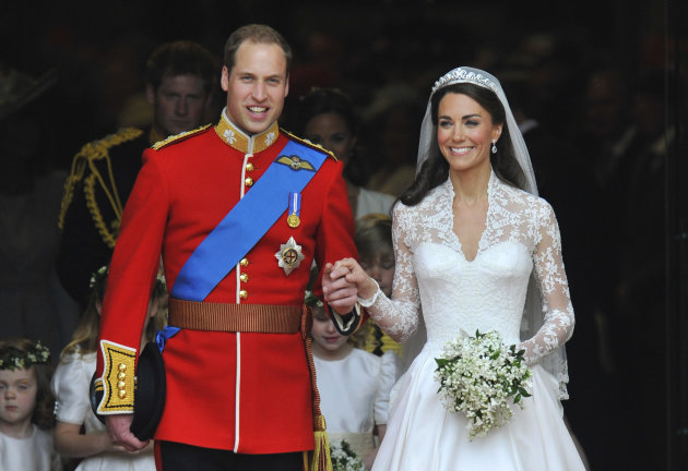 29 апреля 2011 года Кейт Миддлтон вышла замуж за принца Уильяма