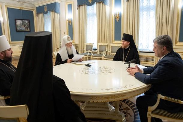 Стали известны результаты встречи Порошенко с главами украинских церквей
