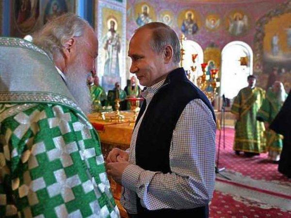 Путин во время поездки на Валаам.