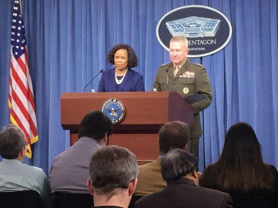 Представитель Пентагона охарактеризовал поведение россиян во время удара по Сирии