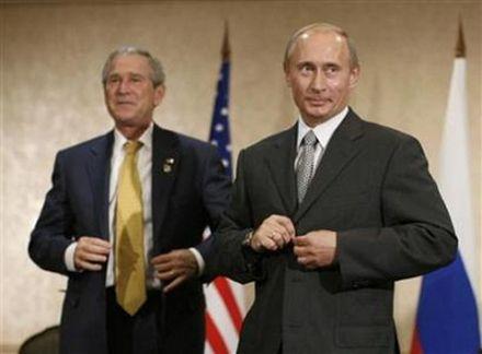 Джордж Буш-младший заявил, что с Путиным необходимо общаться, но осторожно