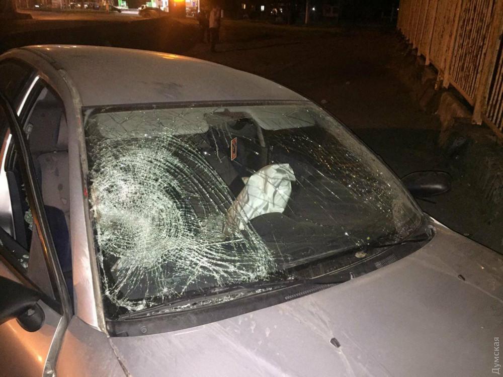 В Одессе водитель на иномарке насмерть сбил женщину