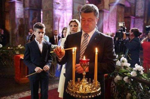 Церковная авантюра Порошенко является обычным оппортунизмом