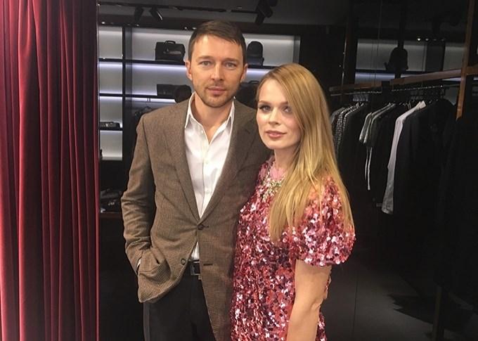 Ольга Фреймут и Владимир Локотко