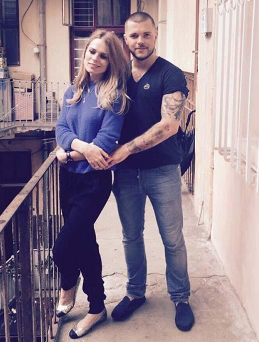 Ольга Фреймут и Валерий Созановский