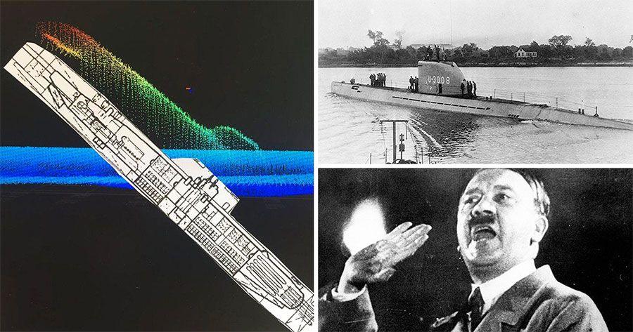 Подлодка U-3523 и Адольф Гитлер