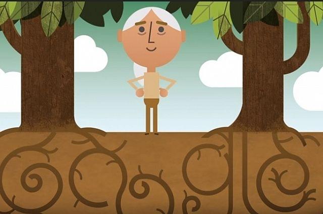 Дудл от Google призывает задуматься о защите природы